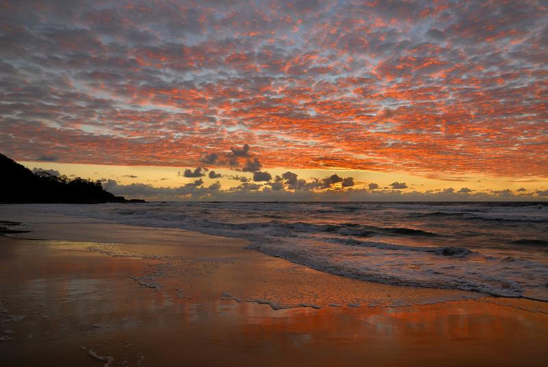 Sunshine Beach sunrise, Queensland.