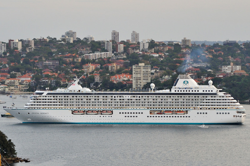 Crystal Serenity mail