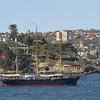 Sydney, Australia.<br /> The barque James Craig was built by Bartram, Haswell & Co. in Sunderland, England in 1874.