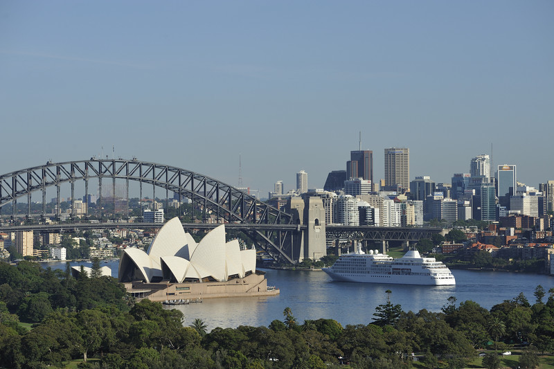 Sydney, Silver Seas.