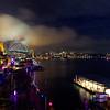Vivid Sydney panorama. June 2012.