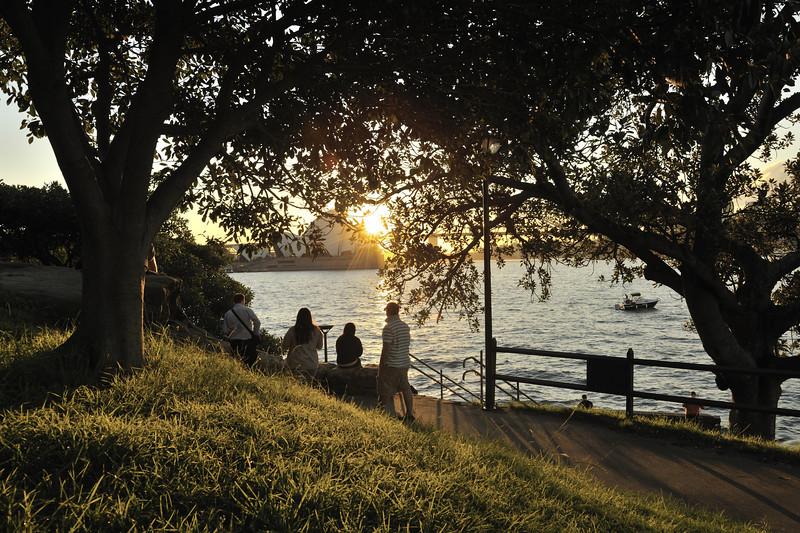 Mrs Macquarie's Point.<br /> Sydney, Australia.