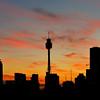 Sydney sunset, Australia.