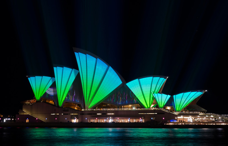 Vivid Sydney, 2011.<br /> Adobe raw processed.