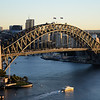 Sydney Harbour Bridge early morning.