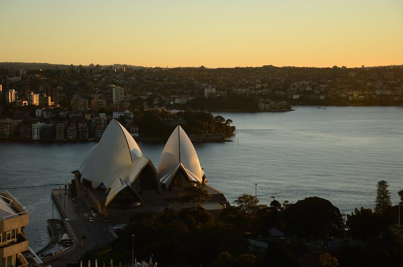 Sydney Opera House<br /> From InterContinental Sydney