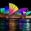 Vivid Sydney, 2011.<br /> Composite image.
