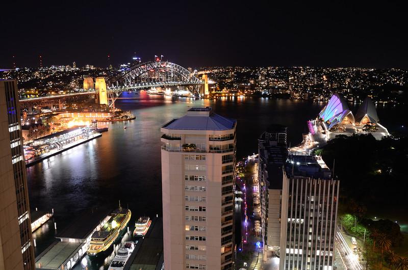 Vivid Sydney, 2011.<br /> From InterContinental Sydney