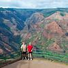 Kauai's Waimea Canyon. Hawaii.