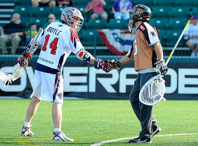 2011 MLL- Boston at Rochester: 6/18/11