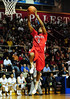 26 November 2010: Rutgers Scarlet Knights forward Robert Lumpkins (5) elevates to the basket during the first half against the Saint Joseph's Hawks at the Philly Hoop Group Classic played at the Palestra in Philadelphia, PA.