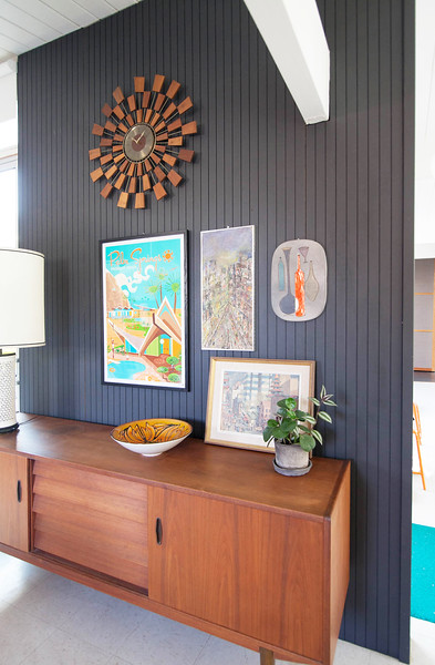 Dining Room Credenza Wall