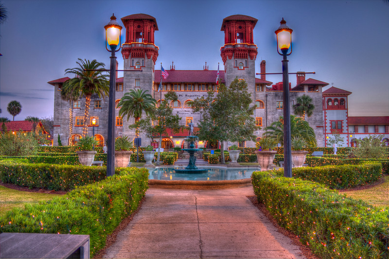 Lightner Museum Golden Hour.