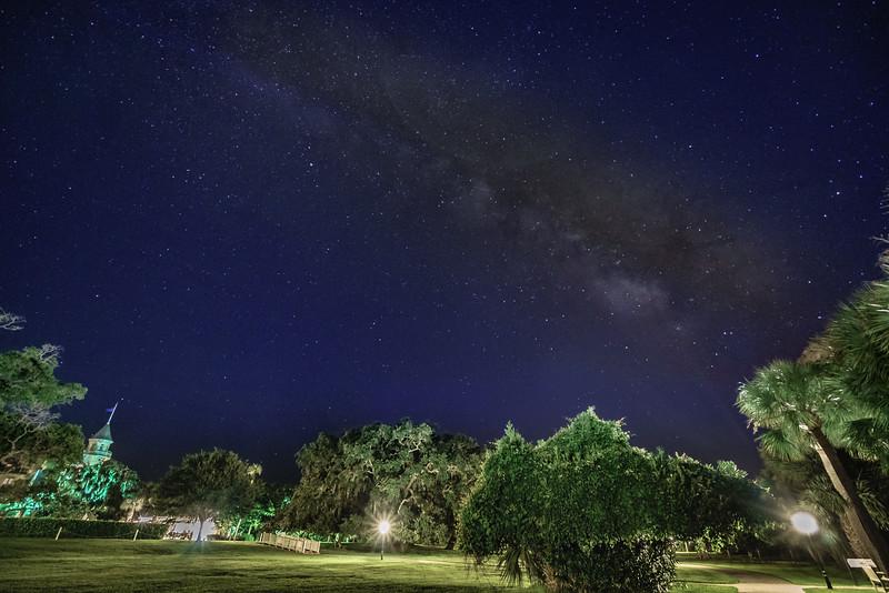 Jekyll Island Club Hotel and Milky Way