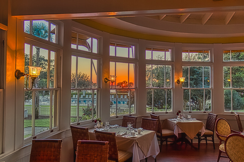 Dining Room Sunset