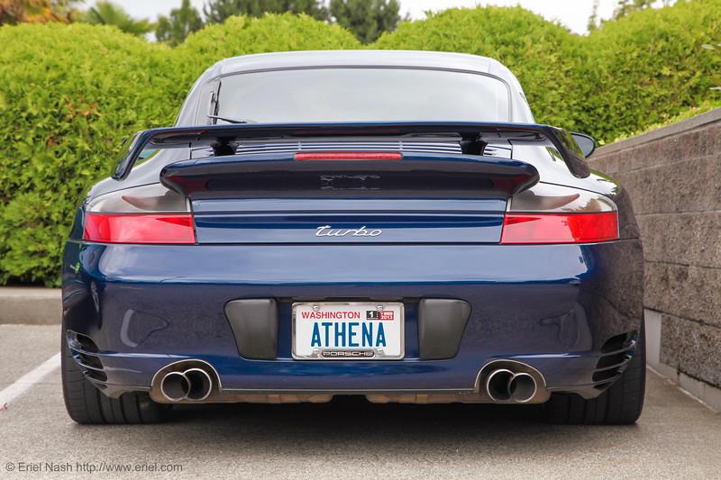The Mighty Athena, my 2003 Porsche 911 Turbo