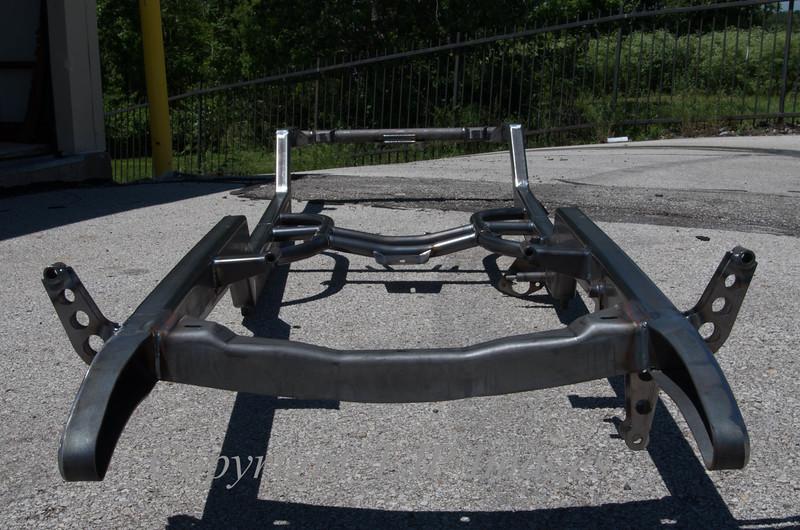 double Z'd frame by Riley Automotive.