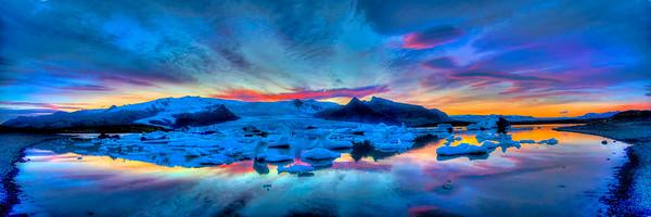 Fjallsárlón Glacial Lagoon