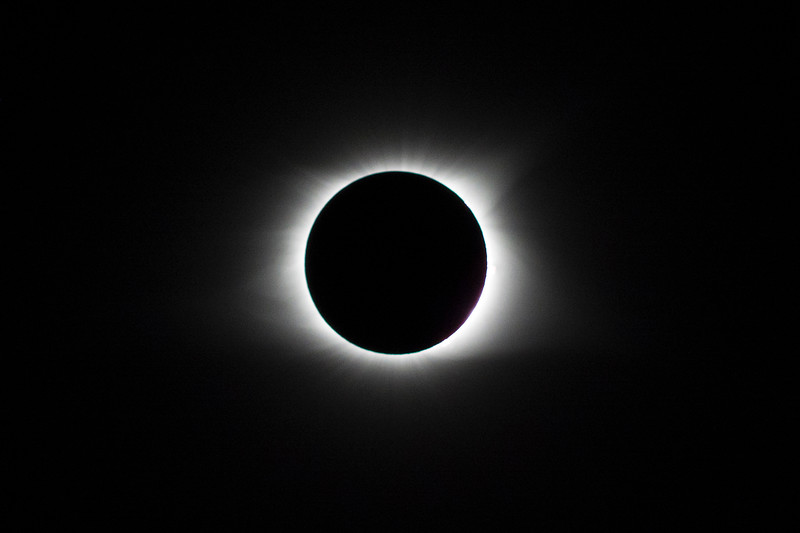 Eclipse and corona