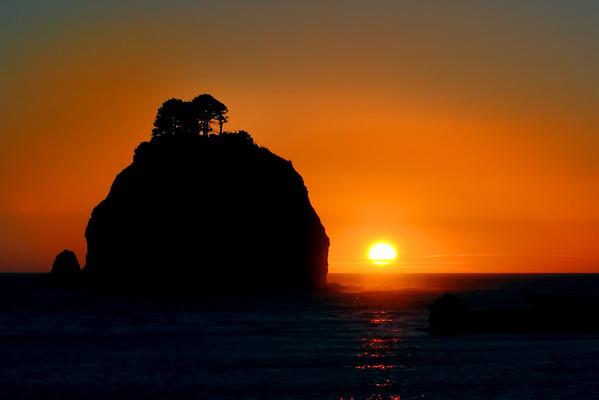Pacific Ocean Sunset 3