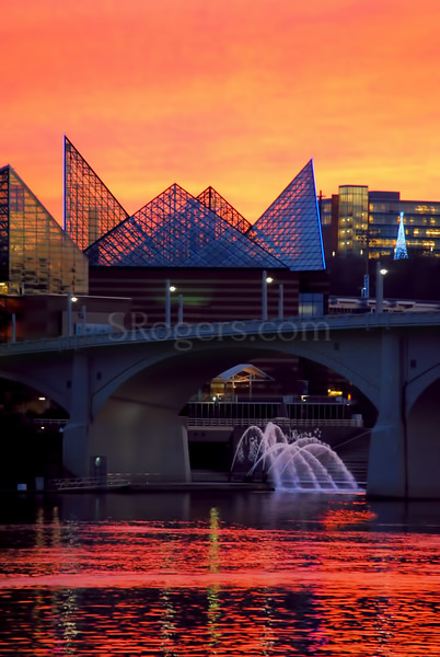 Chattanooga Riverfront Sunset