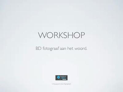 BD fotograaf aan het woord