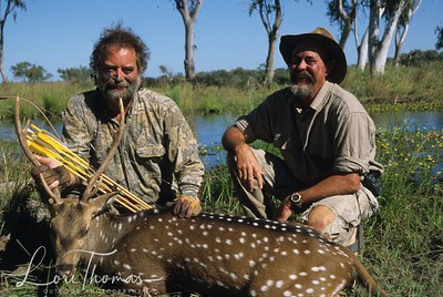 Don and Bill  with a nice Toomba Axis Deer