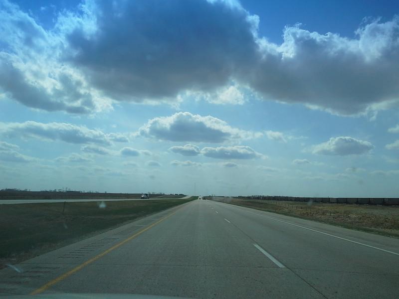 North dakota has a lot of flat lands!