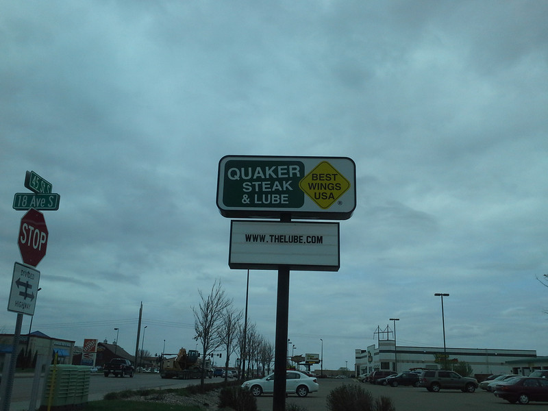 """Yes that says """"Quaker state and lube""""!"""