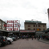 pikes market was just down the street from our hotel.