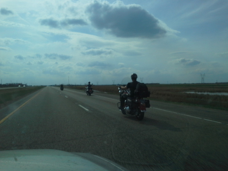 Motorcycle dudes in ND