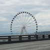 the new Seattle ferris wheel.