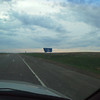 Blurry welcome to montana sign