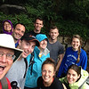 I was incredibly lucky to work on this staff team. We're all smiles before we bonded by conquering the Grouse Grind.