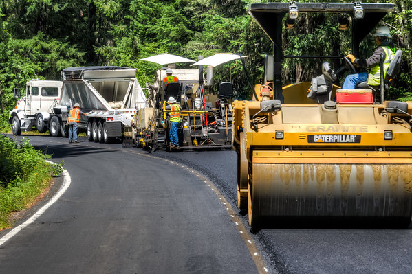 Paving - Wind River Washington - 2015