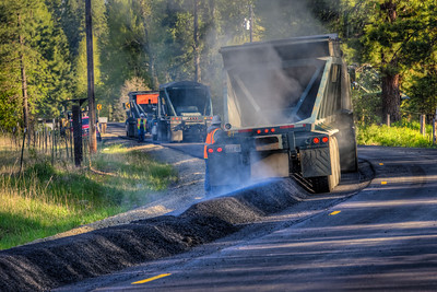 Paving - Teanaway Washington - 2015