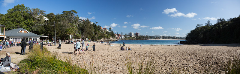 One of the beaches at Manly