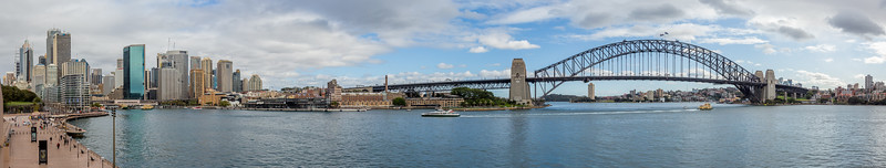 The view from the Opera House... Circular Quay, The Rocks, and the Sydney Harbour Bridge