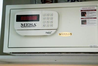 digital, user programmable safe.