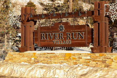The Gateway Building right at the entrance to River Run Village at Keystone Resort.