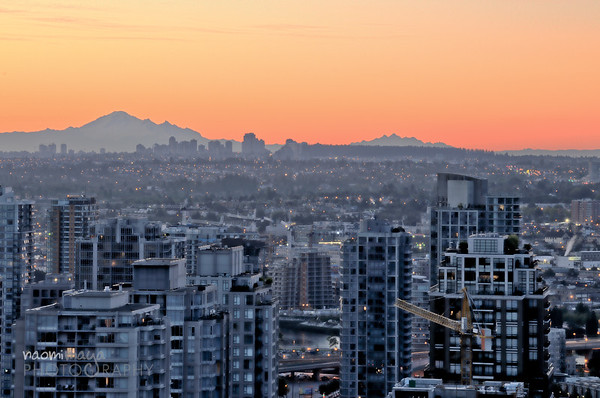 Mount Baker at Sunrise