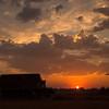 4  G Sunset Sun and Barn