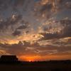 8  G Sunset Barn and Sun Wide