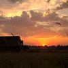 7  G Sunset Barn and Sun