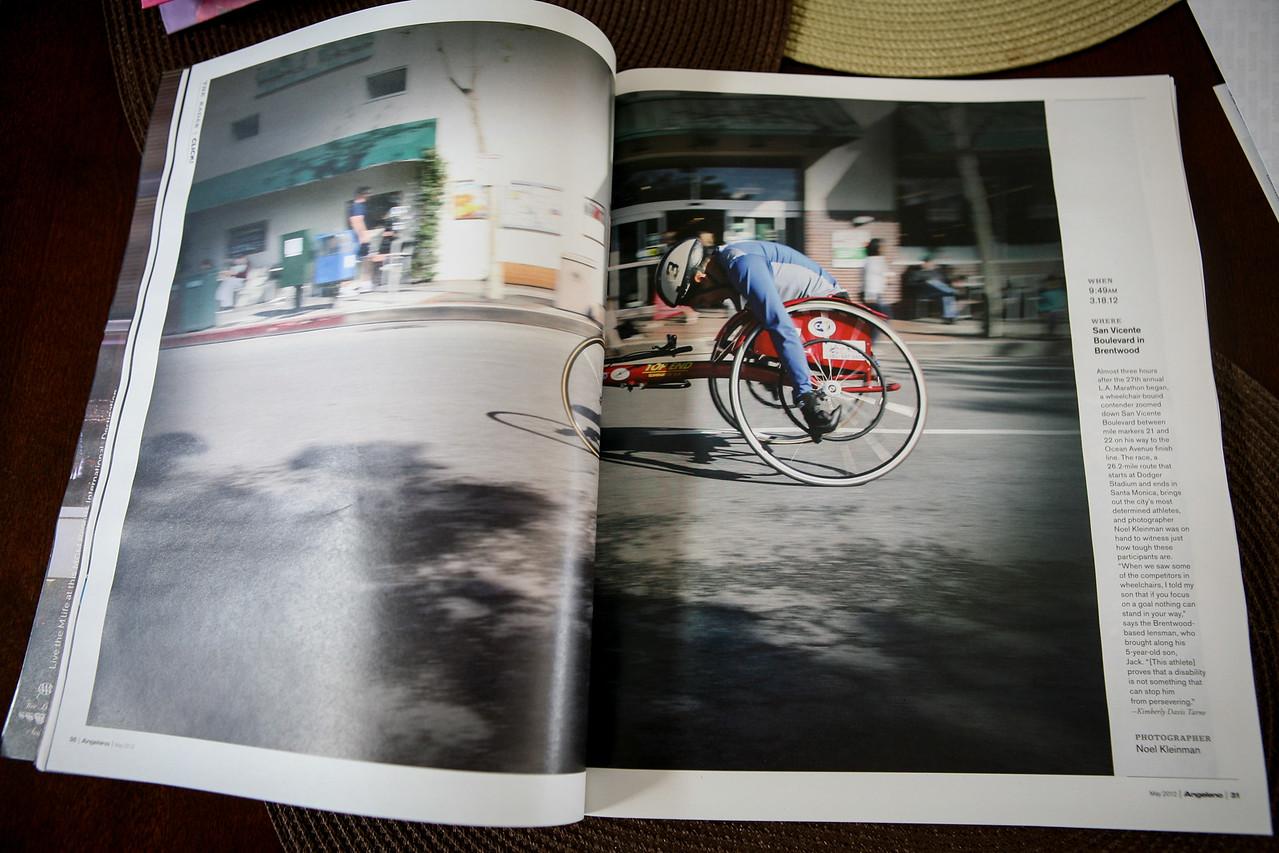 Angeleno Magazine - May 2012