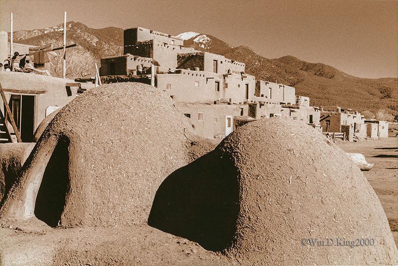 Taos Pueblo Ovens