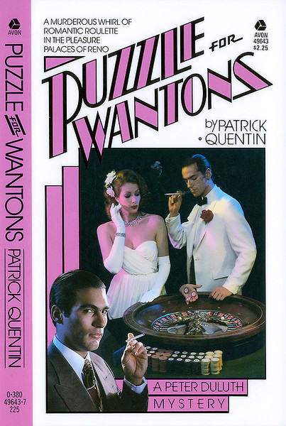 """Puzzle for Wantons"", published by Avon Books a division of the Hearst Corporation."