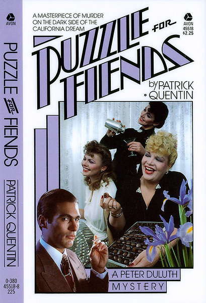 """Puzzle of Fiends"", published by Avon Books a division of the Hearst Corporation."
