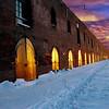 """""""Golden Doors"""" Red Hook, Brooklyn."""