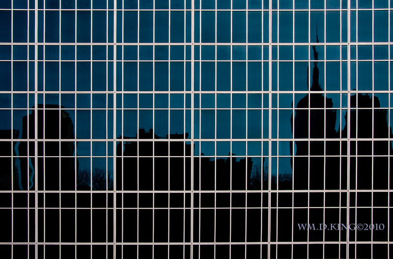 """Bryant Park Reflection"""